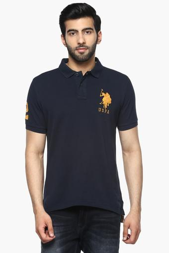 U.S. POLO ASSN. -  Navy T-shirts - Main