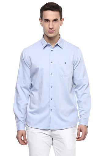 Mens Slub Casual Shirt