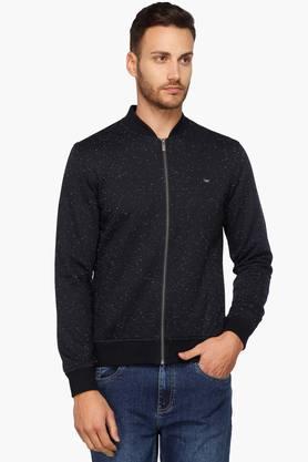 IZODMens Zip Through Slim Fit Sweatshirt
