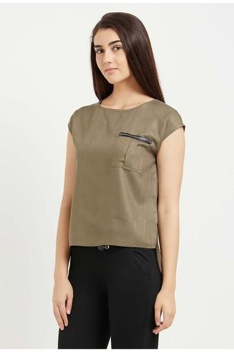 109F -  Olive Tops & Tees - Main