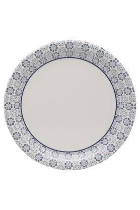 Royal Palmette Round Printed Plate
