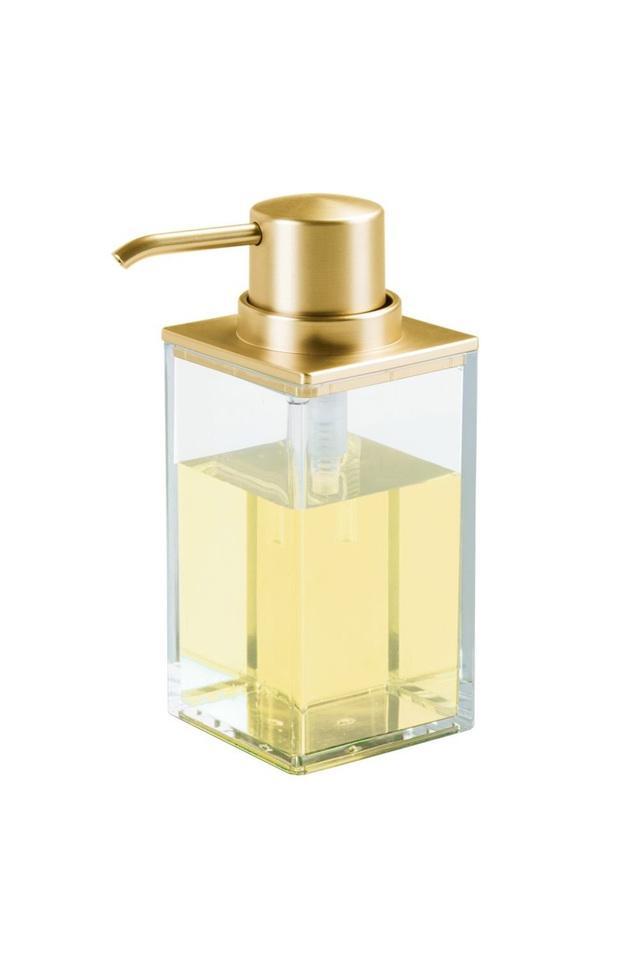 Square Transparent Soap Dispenser