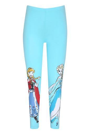 Girls Cartoon Print Leggings