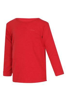 Boys Round Neck Slub Tee