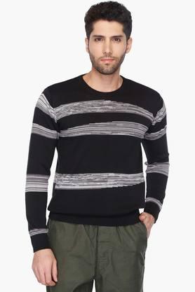 WROGNMens Crew Neck Slim Fit Sweater