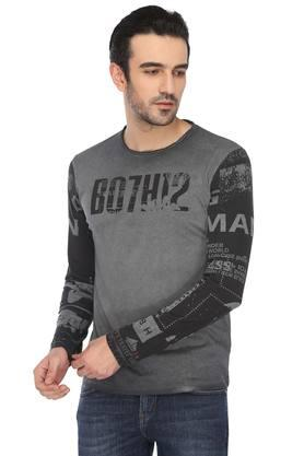 e110534a2 X BEING HUMAN Mens Round Neck Printed T-Shirt. BEING HUMAN. Mens Round Neck Printed  T-Shirt .