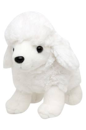 Unisex Sitting Poodle Soft Toy