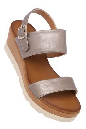 FEMINA FLAUNTWomens Casual Wear Buckle Closure Sandals - 204133653_9215
