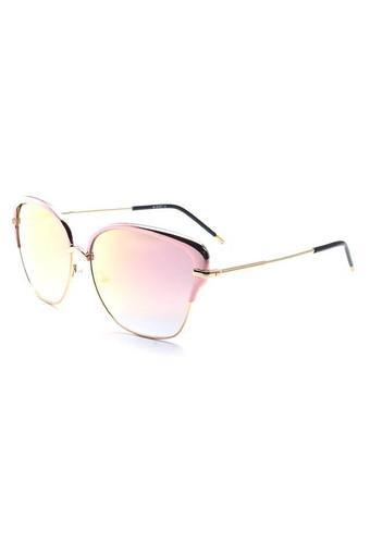 Womens Full Rim Browline Sunglasses - 005 C1 S