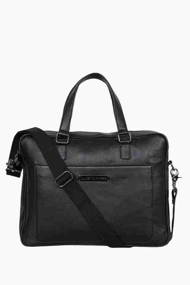 Mens Zipper Closure Messenger Bag