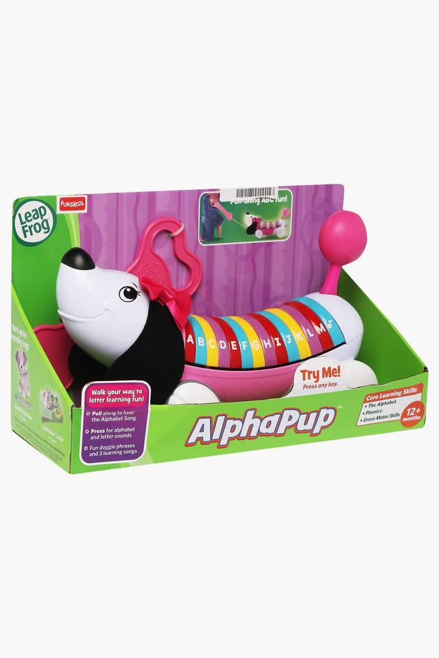 Unisex Alphabet Toy Puppy