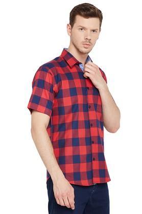 Mens Slim Fit Check Shirt