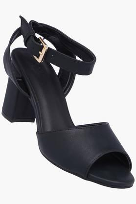 X Allen Solly Womens Party Wear Buckle Closure Heels