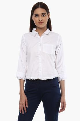 c48af6412d5a0 Buy Formal   Checked Womens Shirt Online