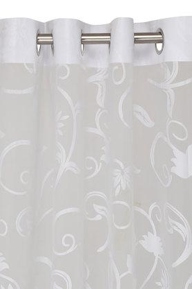 Lydia Sheer Self Printed Window Curtain