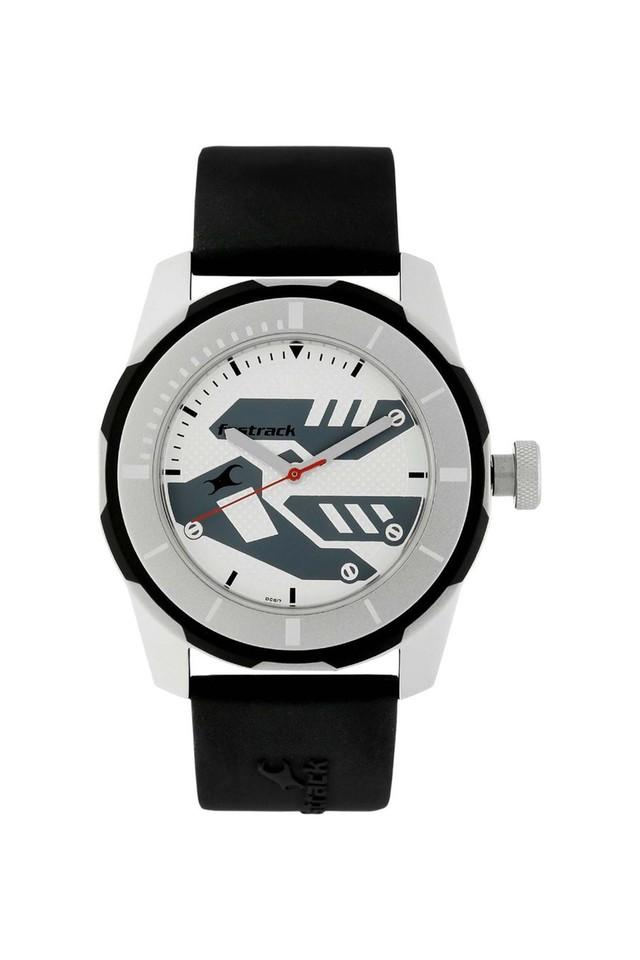 Mens Analogue Silicone Watch - NK3099SP01