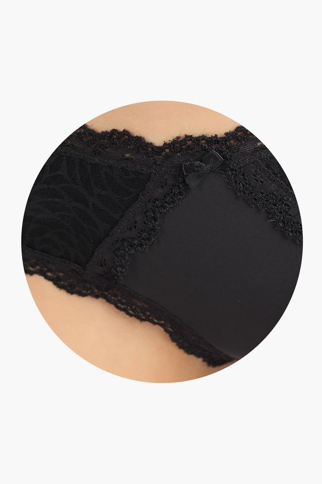 Womens Low Rise Lace Hipster Briefs