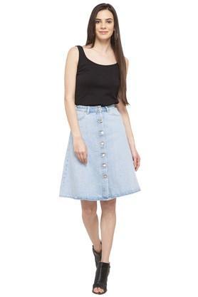 Womens Assorted Knee Length Skirt