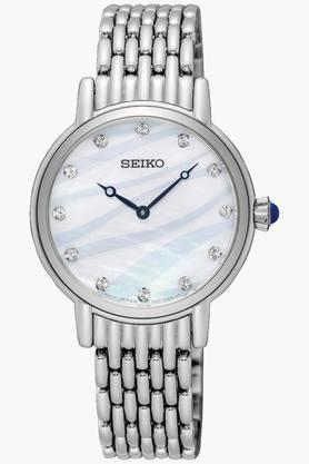 Womens Analog Mother Of Pearl Dial Watch - SFQ807P1