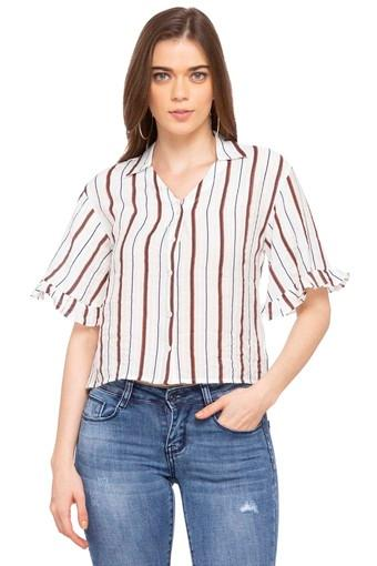 DEAL JEANS -  BrownTops & Tees - Main
