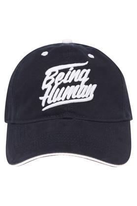 64193986337a3 X BEING HUMAN Mens Solid Embroidered Cap. BEING HUMAN