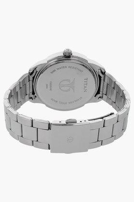 Mens Blue Dial Metal Watch - NJ1585SM05C