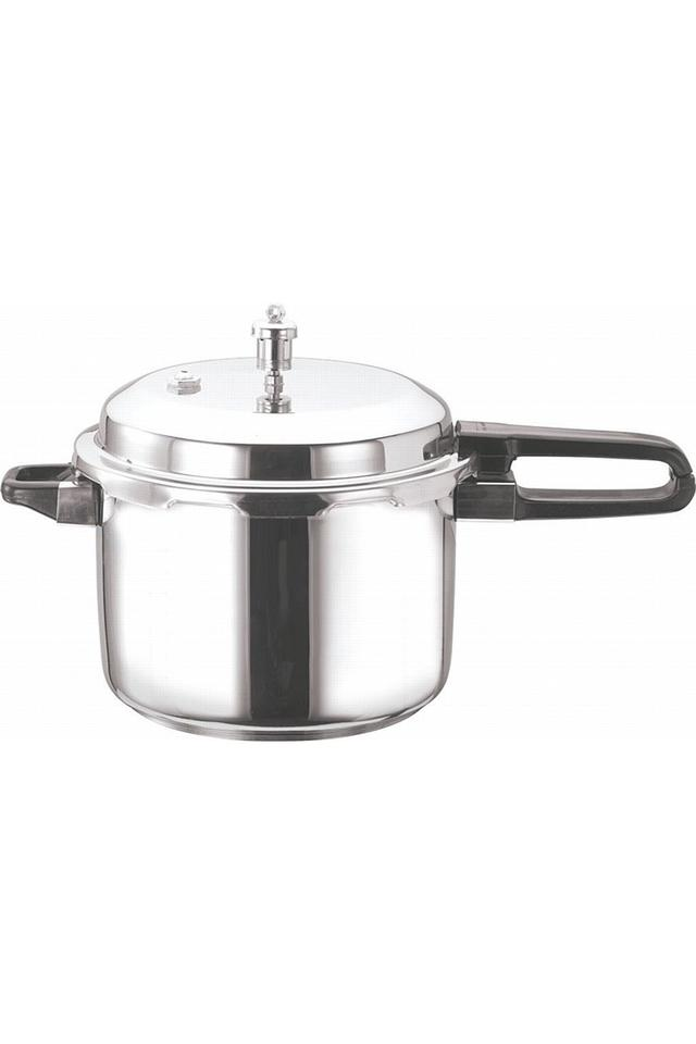 Stainless Steel Pressure Cooker with Handle - 2L