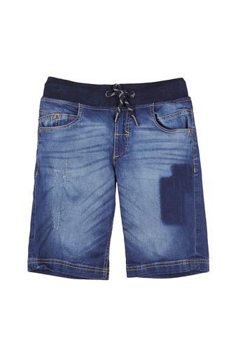 Boys 4 Pocket Heavy Wash Bermudas