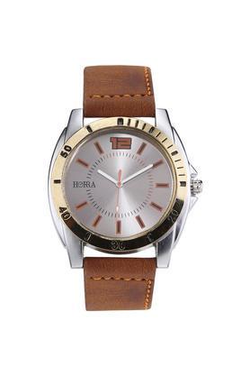 HORRAMens Steel Series Silver Dial Analog Watch - HR717MLSRG57