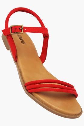 LAVIEWomens Casual Wear Buckle Closure Flats - 202520612