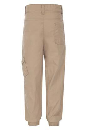 Boys 4 Pocket Solid Cargos