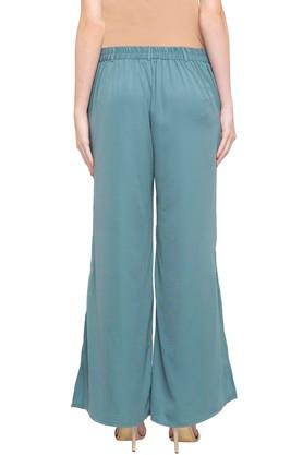 Womens Full Length Solid Pants