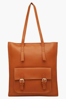 RS BY ROCKY STARWomens Zipper Closure Satchel Handbag - 203346257