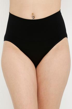 Womens High Waist Solid Shaping Briefs