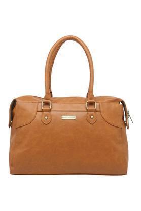 ELLIZA DONATEINWomens Zipper Closure Satchel Handbag - 204769505_9124