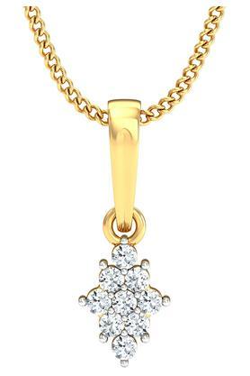 P.N.GADGIL JEWELLERSWomens Cluster Diamond Pendant DJPD-379