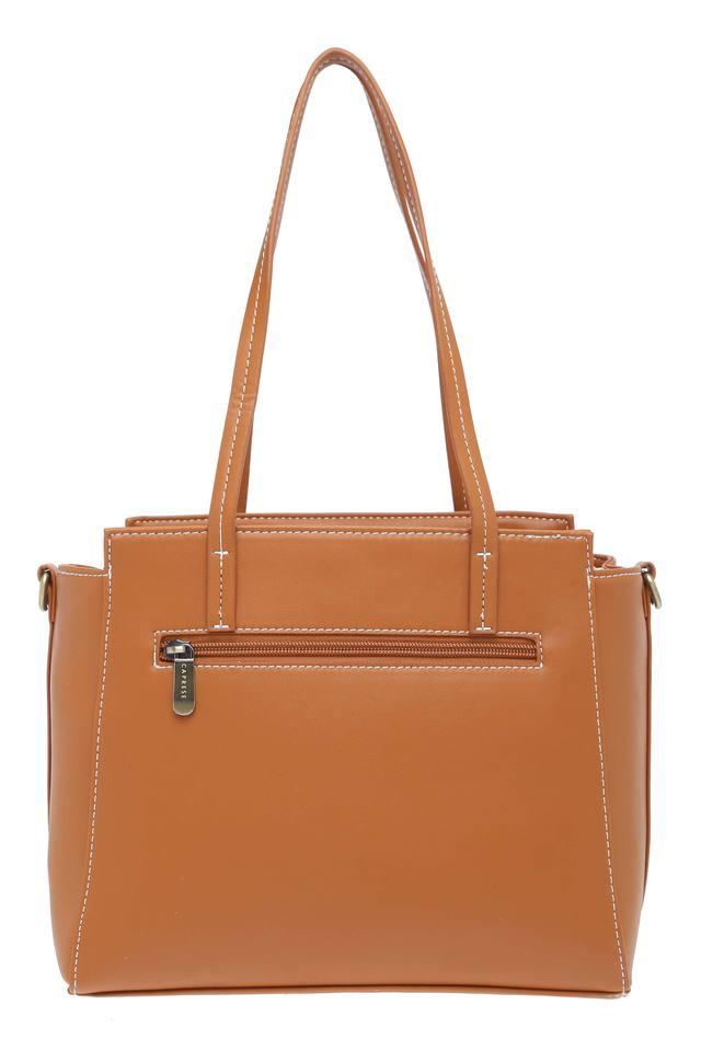 Womens Abigail Zip Closure Satchel Handbag
