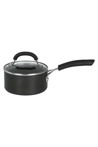 Round Non-Stick Sauce Pan with Lid - 18 cms