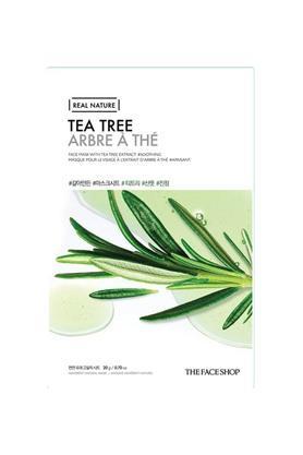 Real Nature Tea Tree Face Mask