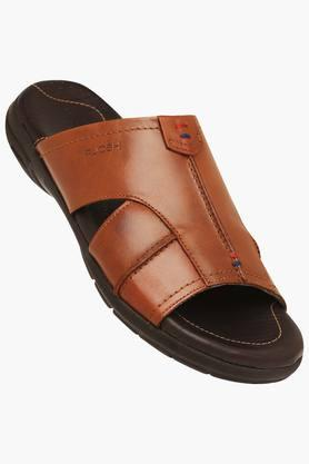 RUOSH Mens Leather Casual Wear Slippers - 203106295