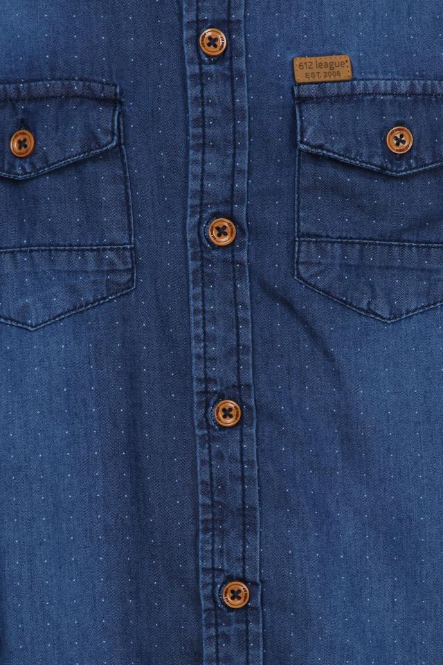Boys 2 Pocket Mild Wash Shirt