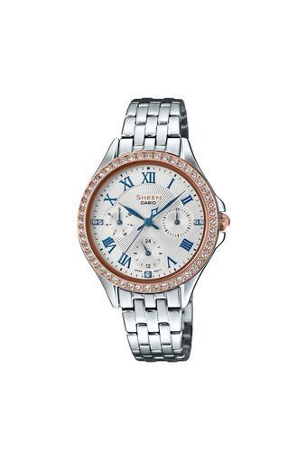 Womens White Dial Analogue Watch - SX221