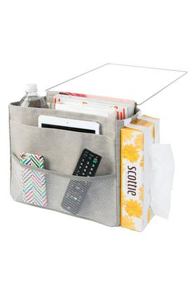Slub Metal Folds Over The Door Storage Organiser