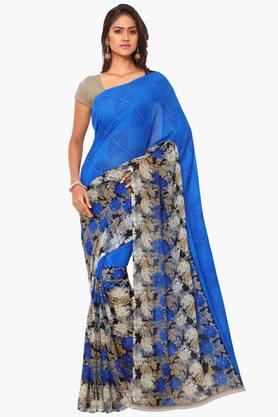 DEMARCA Womens Faux Georgette Printed Saree - 203229512