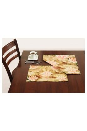 Floral Printed Place Mat Set of 2
