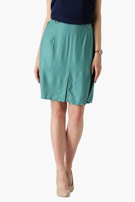 MARIE CLAIRE Womens Solid Casual Skirt - 203398988