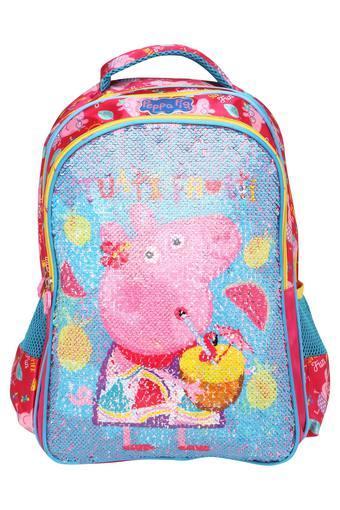 e9adf9c80fb3 Buy DISNEY Kids Peppa Pig Pink Sequence School Bag