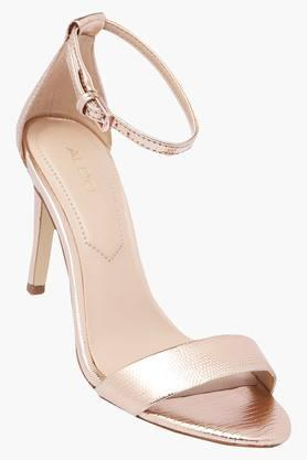ALDO Womens Party Wear Buckle Closure Heels