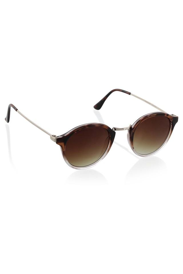 Womens Round UV Protected Sunglasses