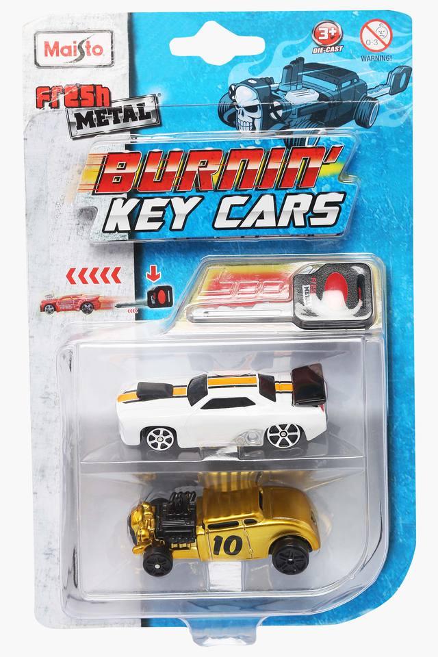 Burning Key Cars - Pack of 2